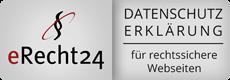 Datenschutz nach eRecht24