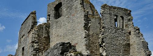 Kraftort Ruine